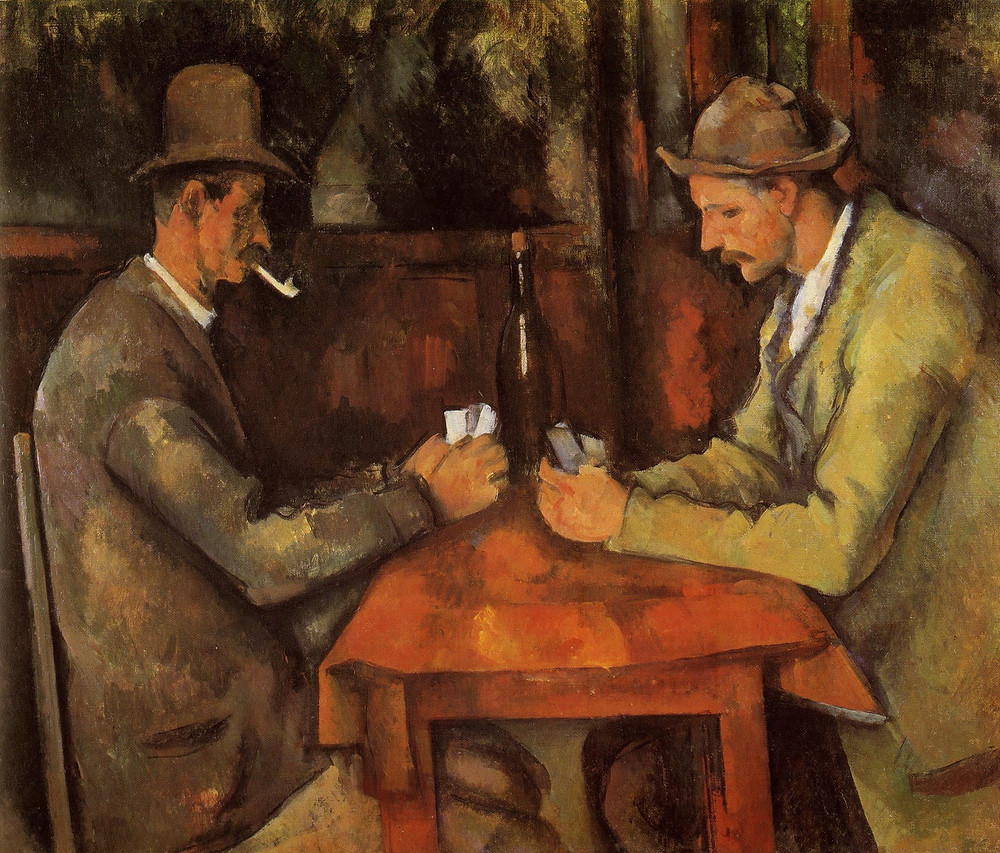 Paul Cezanne, The Card Players, 1894-95