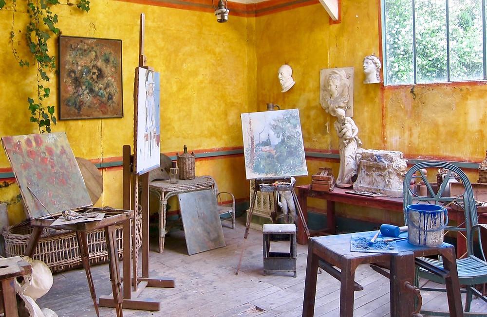 the famous Baudy art studio