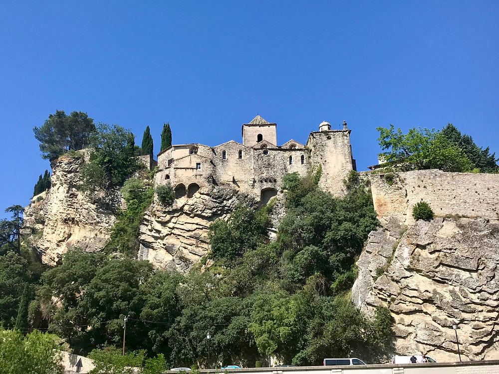 the medieval part of Vaison-La-Romaine in northern Provence