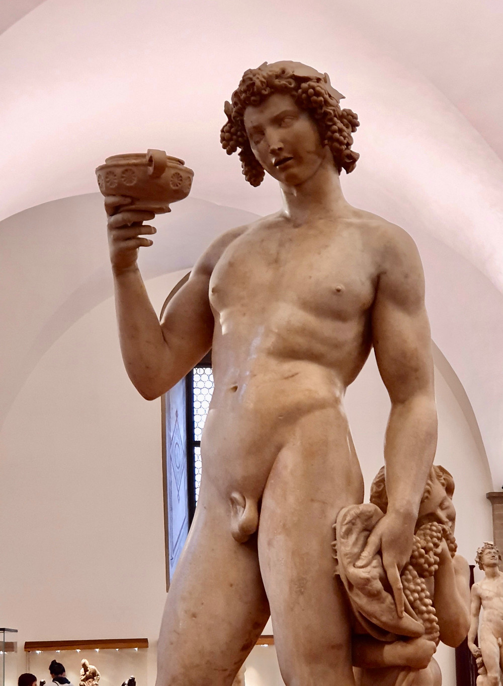 Michelangelo, Bacchus, 1496-97