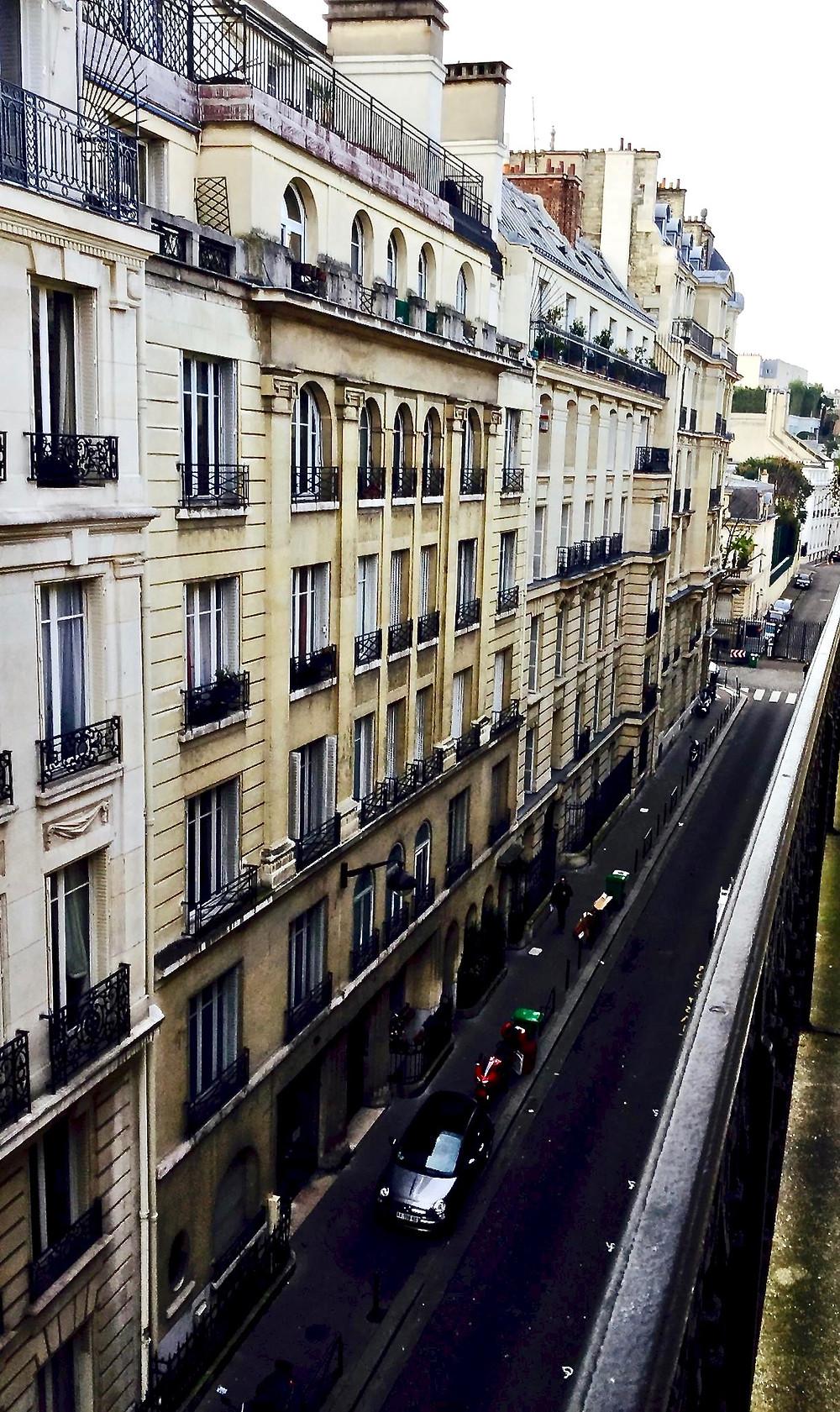 Rue Picot, site of my apartment in the 16th arrondissement of Paris