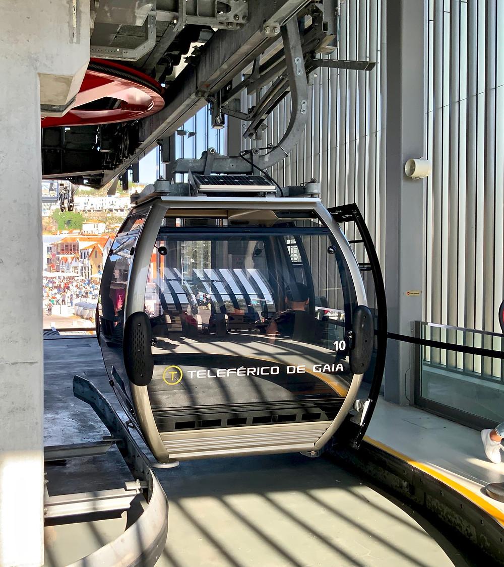 The Teleferico de Gaia cable car
