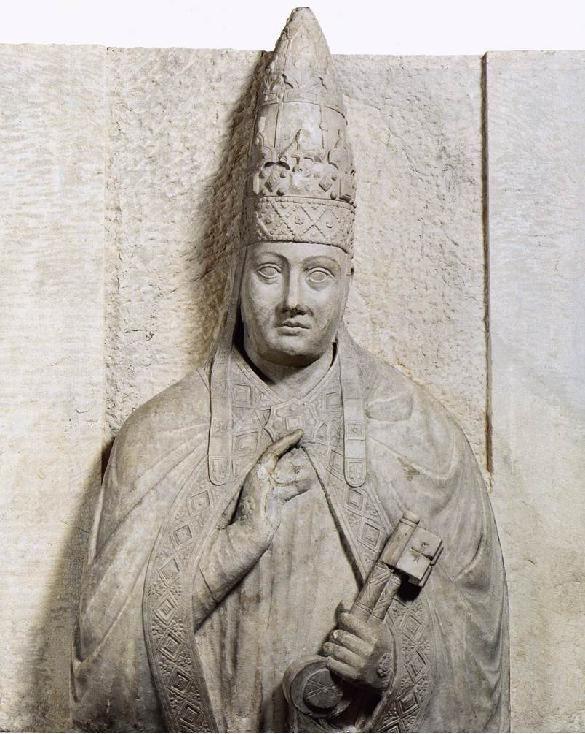 Arnolfo di Cambio, Pope Boniface VIII, 1298