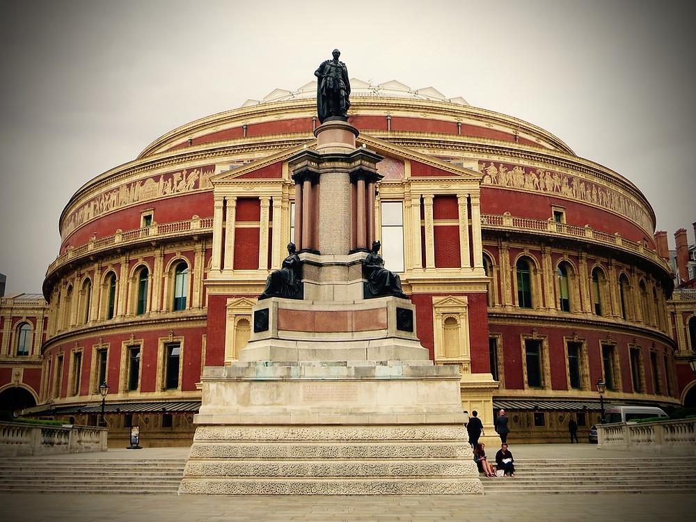 the Royal Albert Hall in London