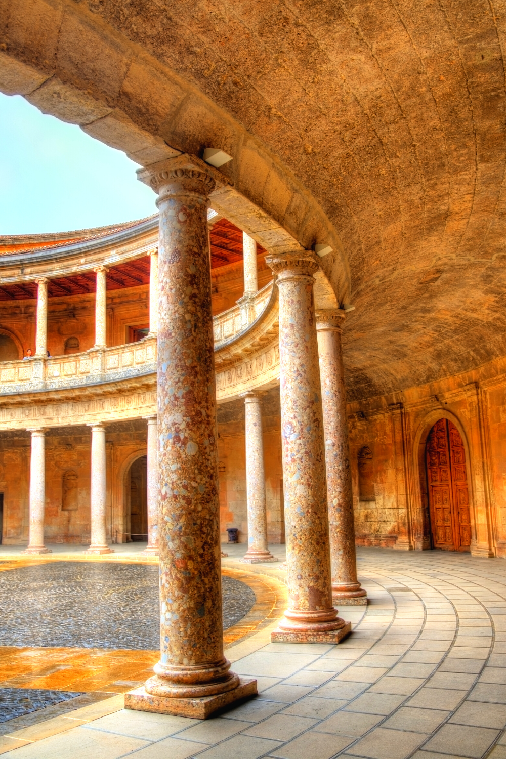 Charles V's Renaissance Palace in the Alhambra