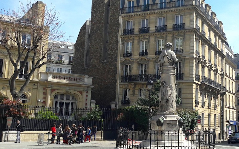 Place Saint-Georges in South Pigalle