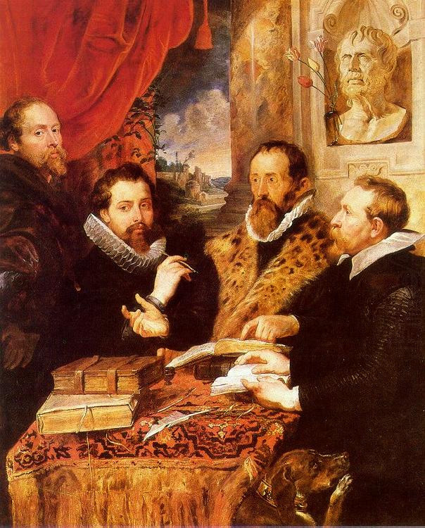 Rubens, The Four Philsophers, 1770-82