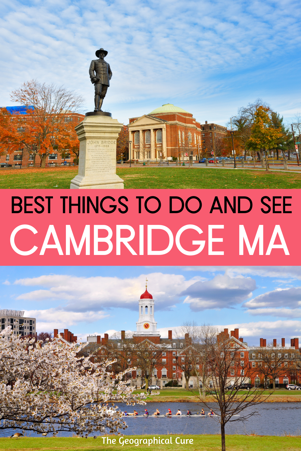 Best Things To Do and See in Cambridge Massachusetts