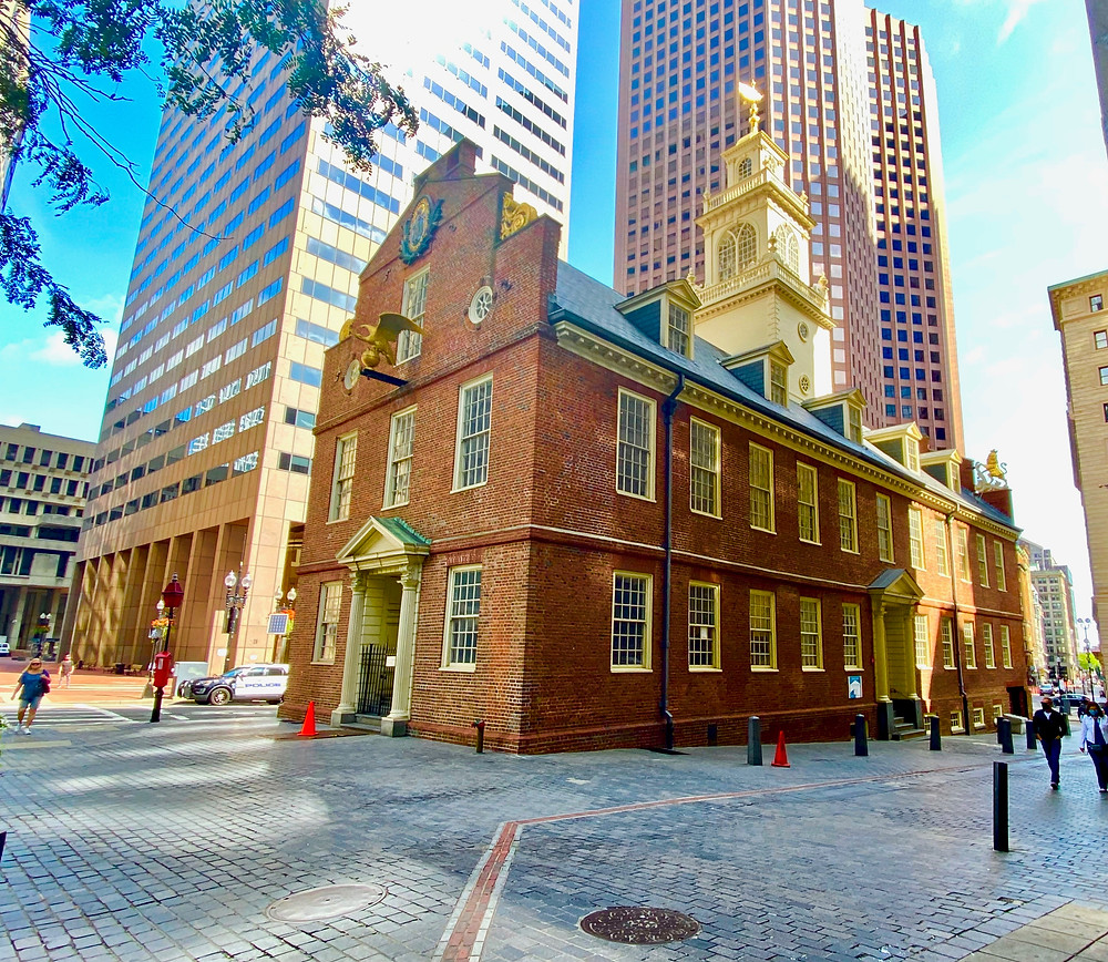 Old State House on Boston's Freedom Trail
