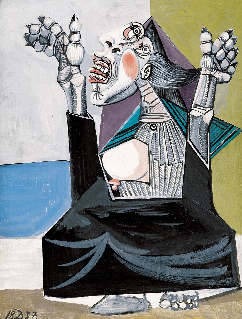 Pablo Picasso, The Suppliant, 1937