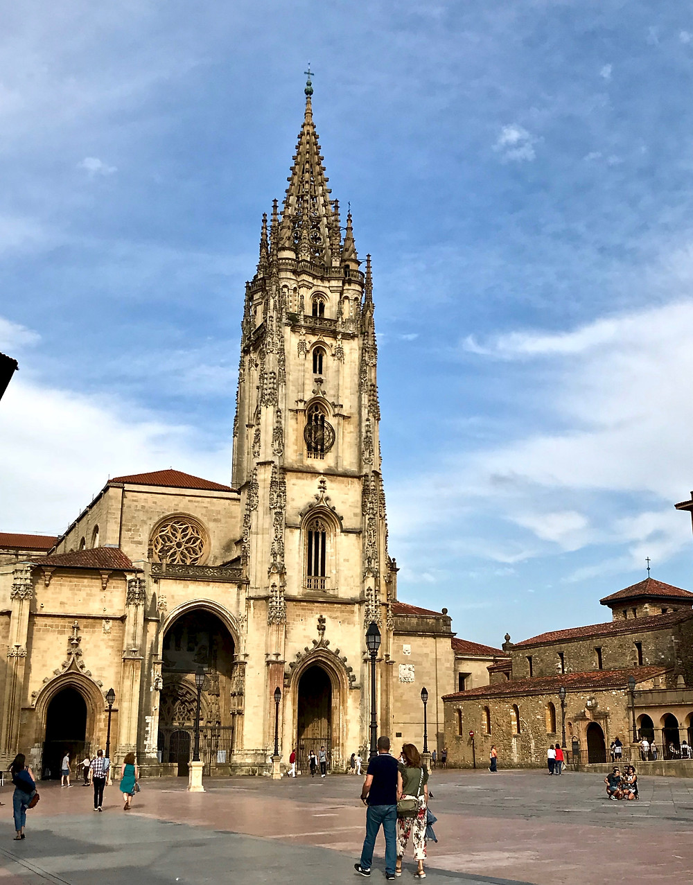 San Salvador Cathedral in Oviedo Spain