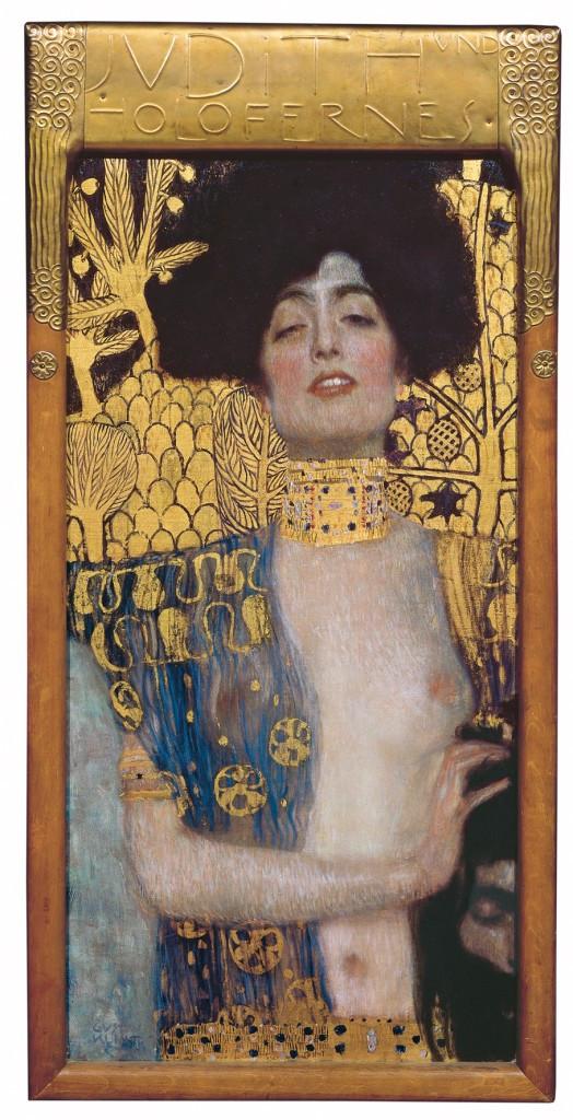Judith and the Head of Holofernes, Gustav Klimt, 1901