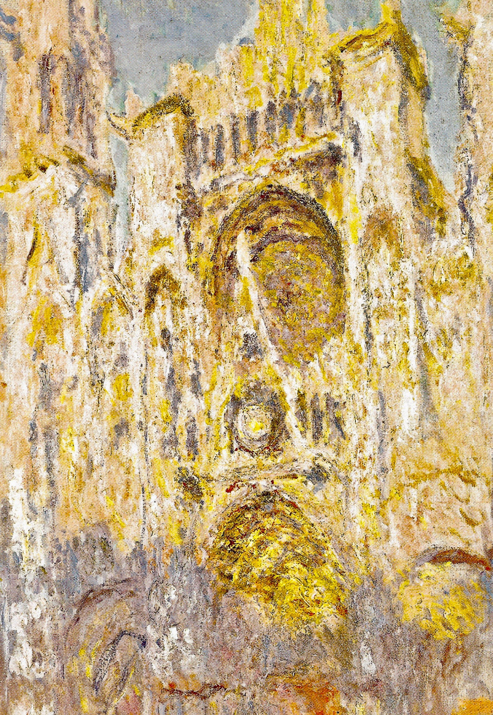 Monet, Rouen Cathedral at Sunset, 1892