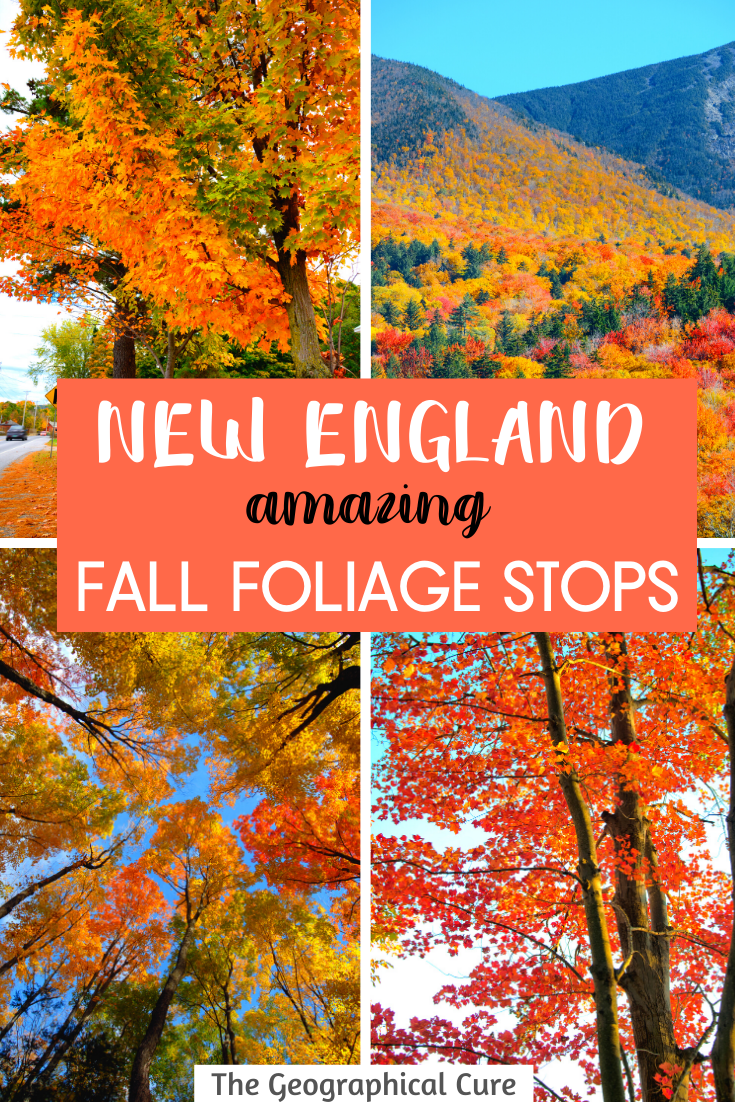 The Best Fall Foliage Stops in New England
