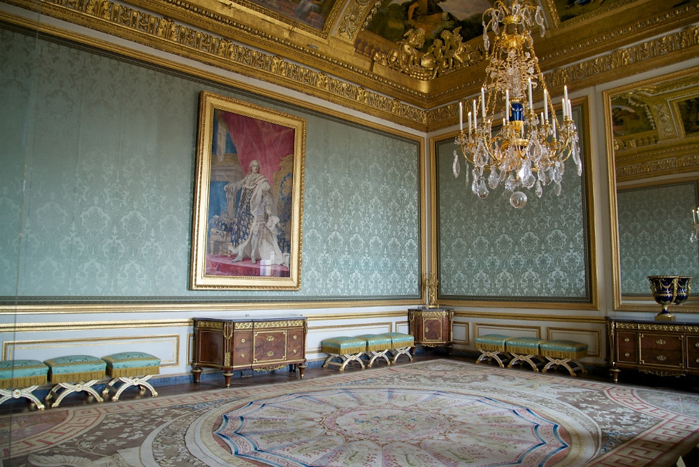 the Nobles' Room in the Queens' Chambers at Versailles