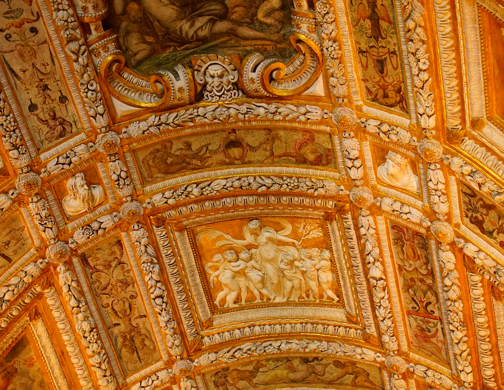 the Golden Staircase of the Doge's Palace