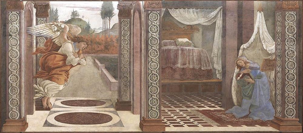 Botticelli, The Annunciation, 1481