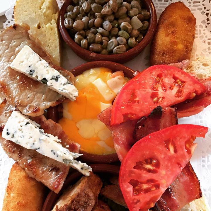 tasty tapas snacks in Seville