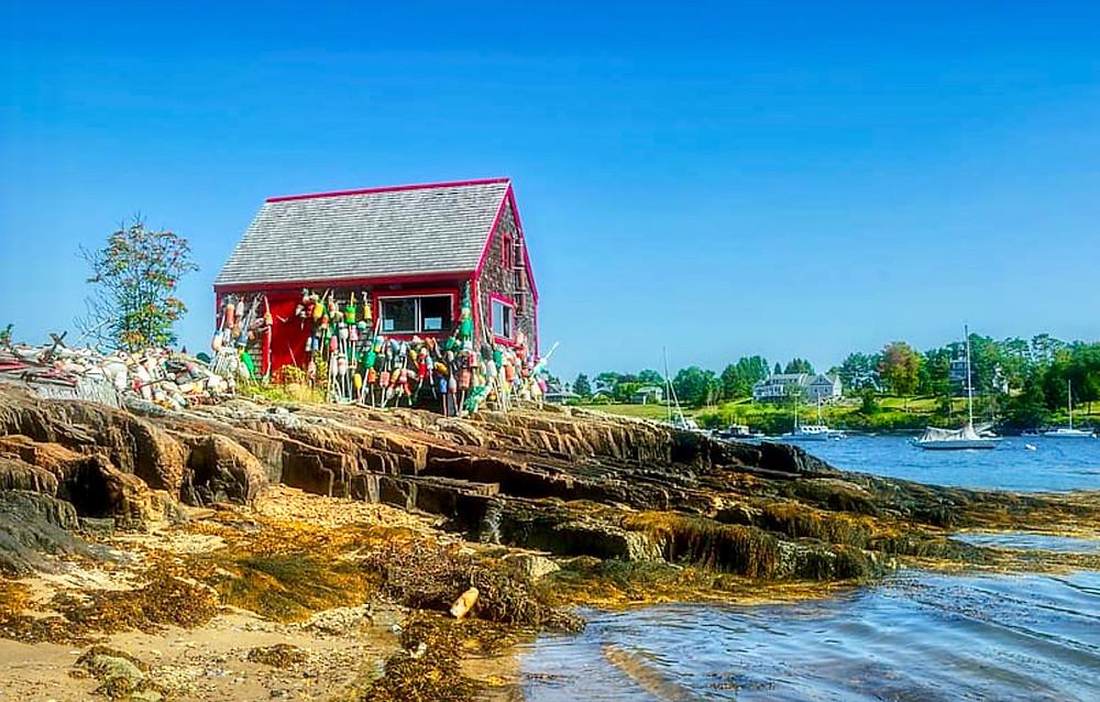 lobster shack in Kennebunkport
