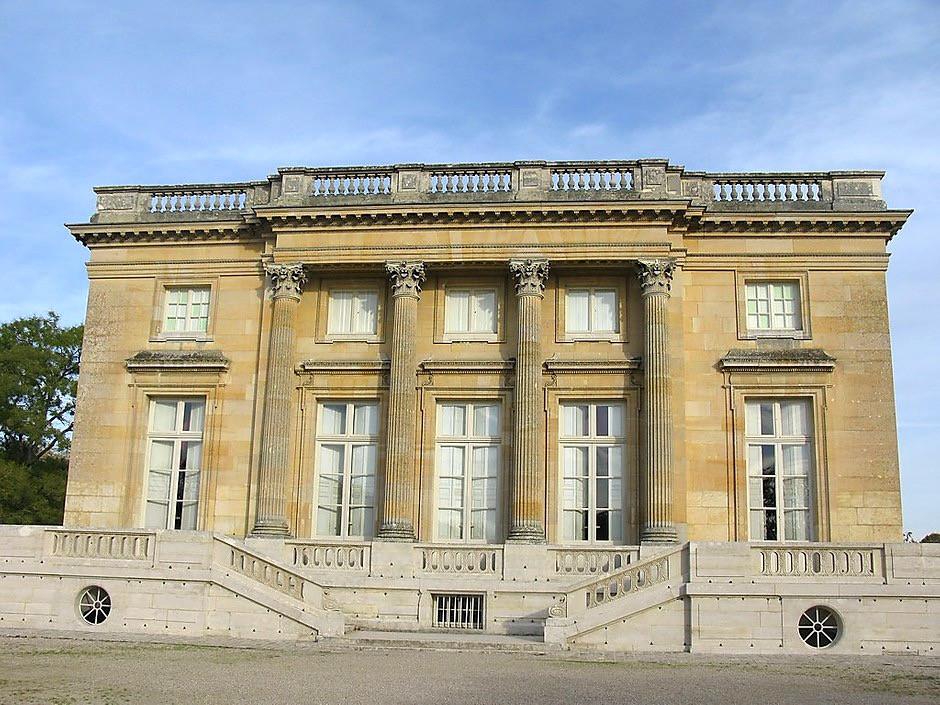 the Petit Trianon, Mari Antoinette's escape pad from Versailles
