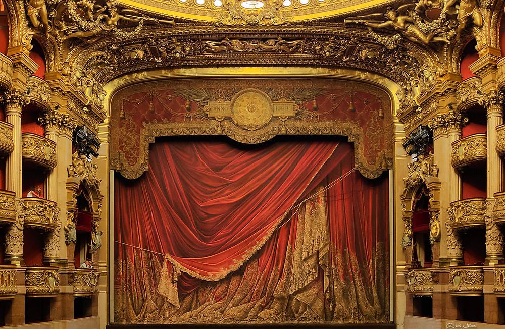 Opera Garnier stage