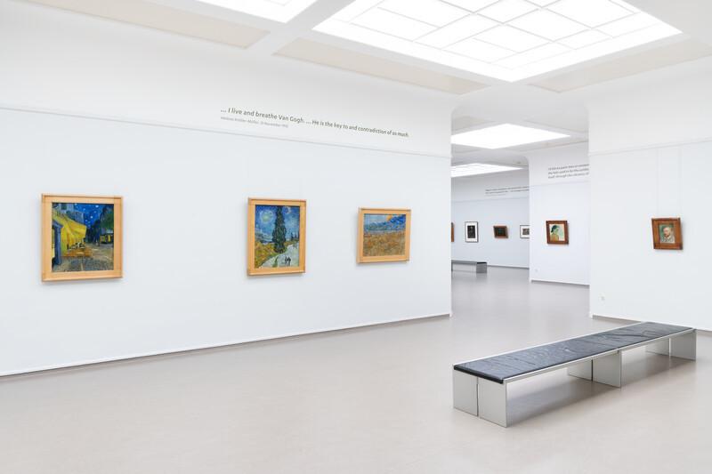 Van Gogh gallery in the Kröller-Müller Museum