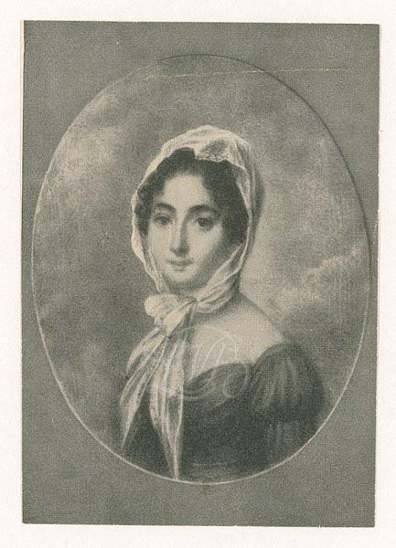 Josephine Brunsvik, a probable candidate for Beethoven's Immortal Beloved