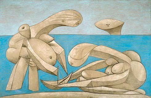 Pablo Picasso, On a Beach, 1937