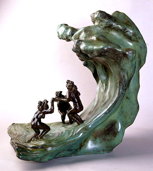 Camille Claudel, The Wave, 1897-1903