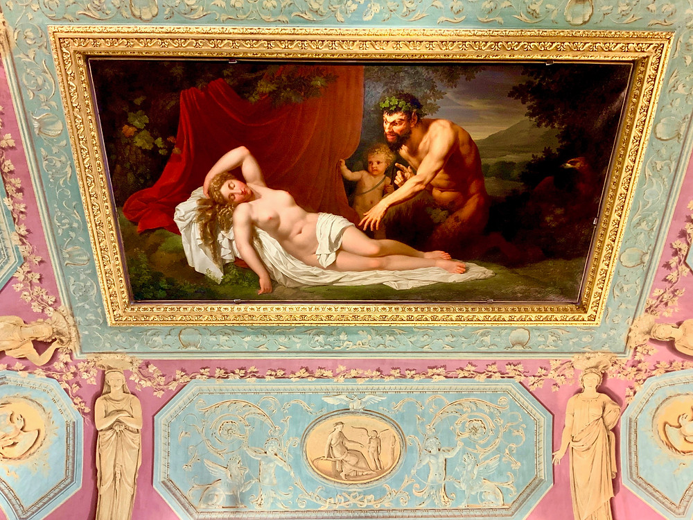 ceiling in the Borghese Gallery
