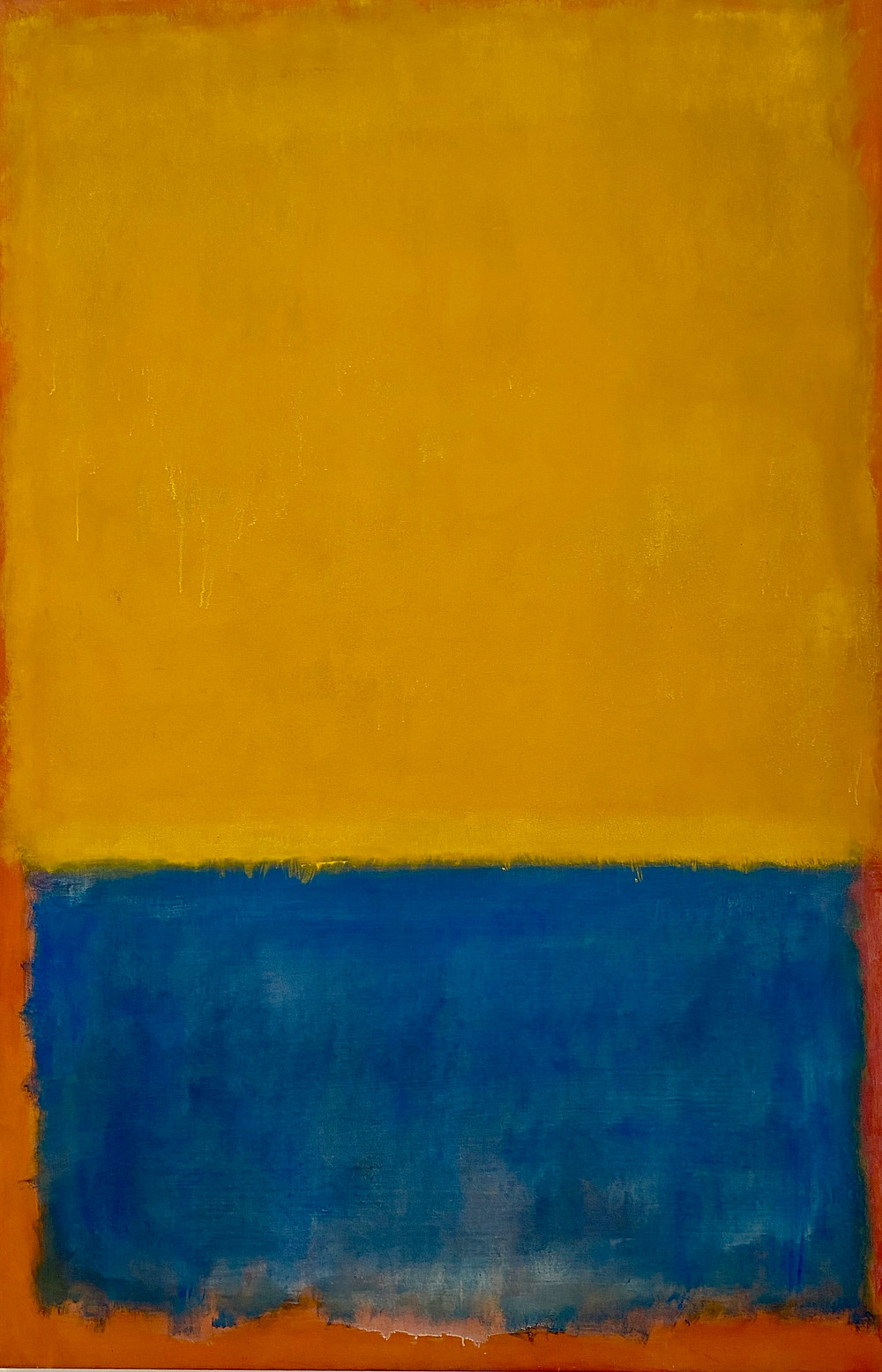Mark Rothko, Yellow and Blue, 1955