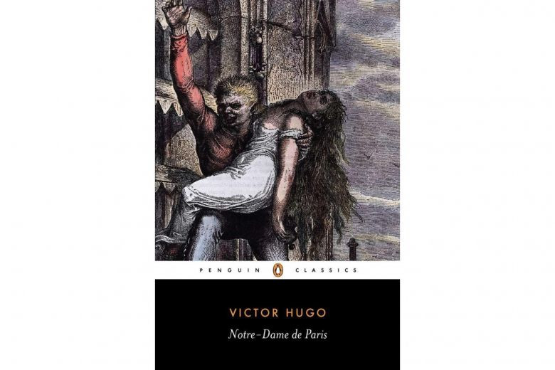 he cover of the first publication of Victor Hugo's Notre Dame de Paris