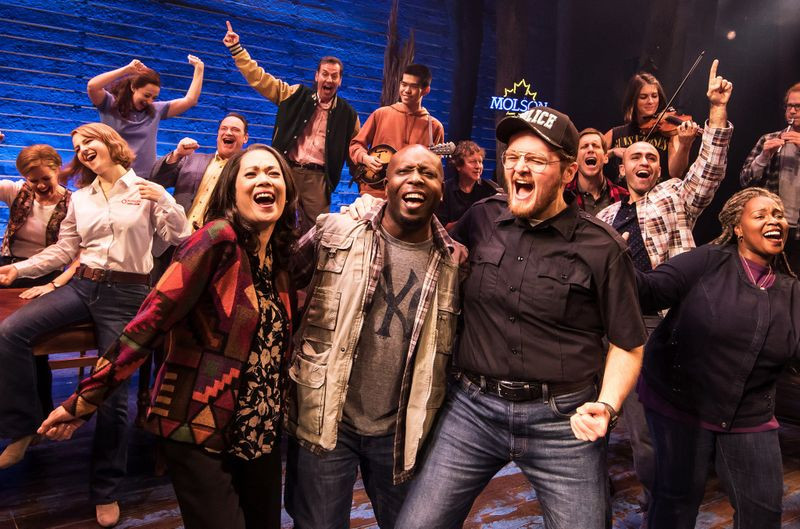 the cast of Come From Away, image source:  Matthew Murphy