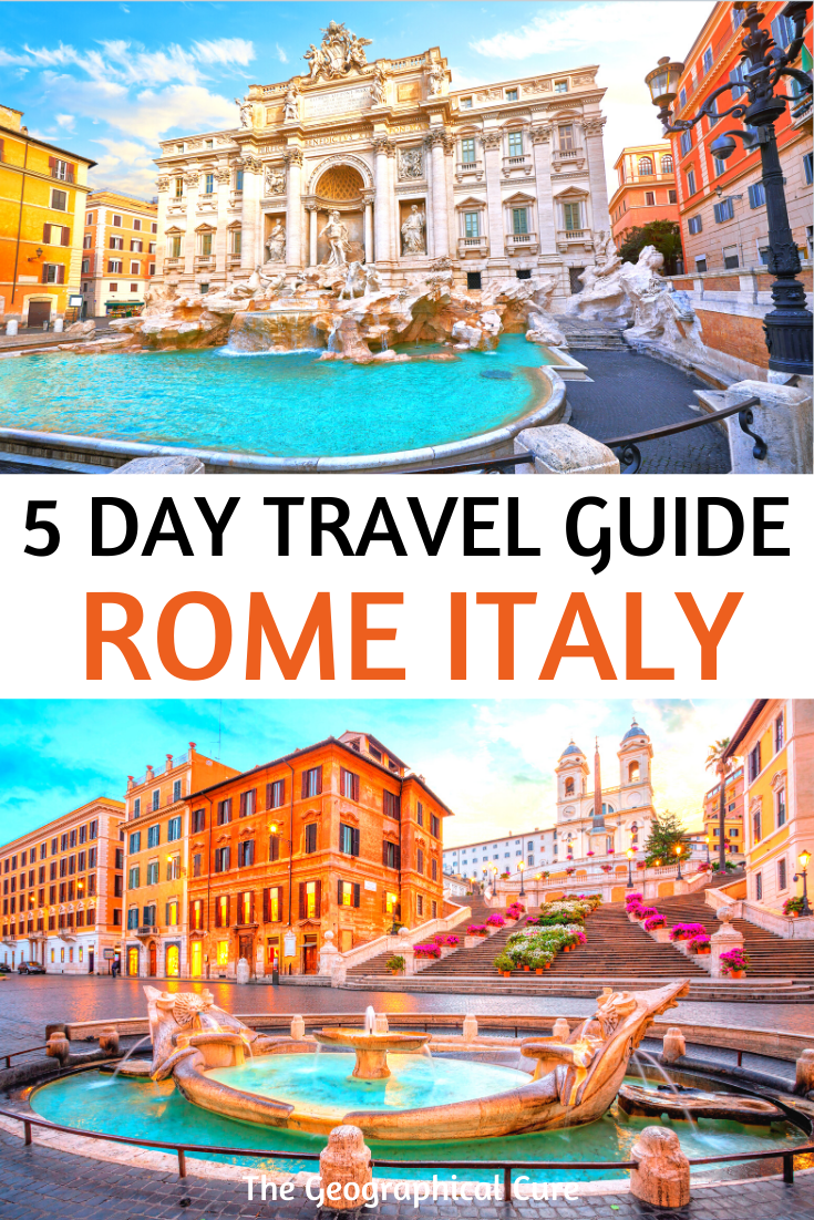 5 Day Travel Guide for Rome Italy