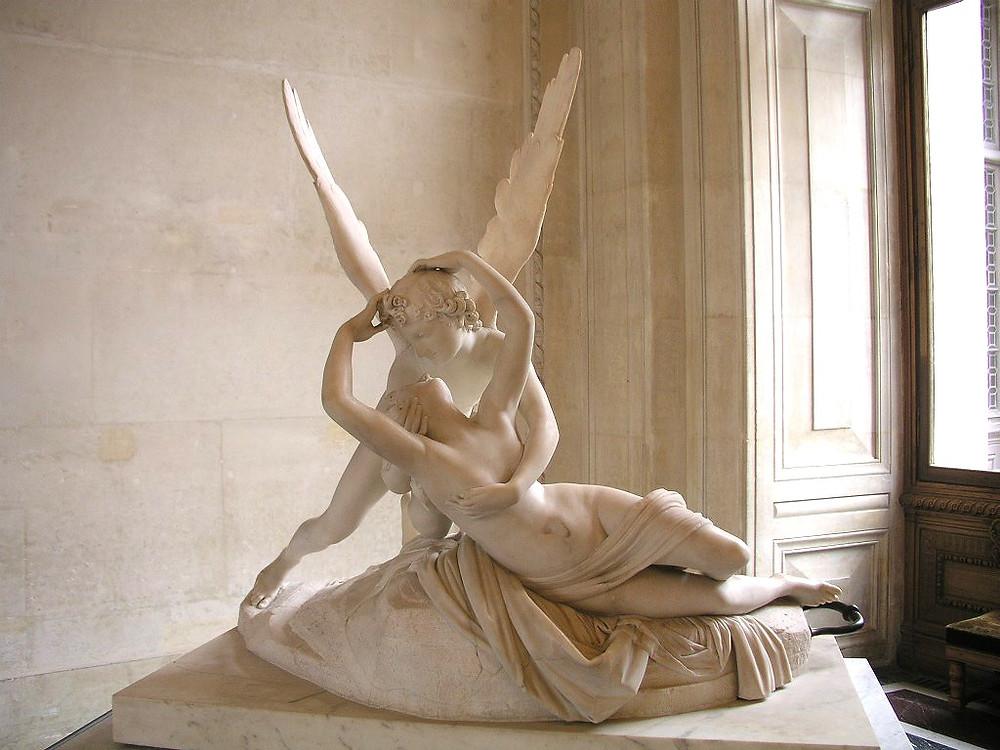 Antonio Canova, Psyche Revived by Cupid's Kiss, 1793