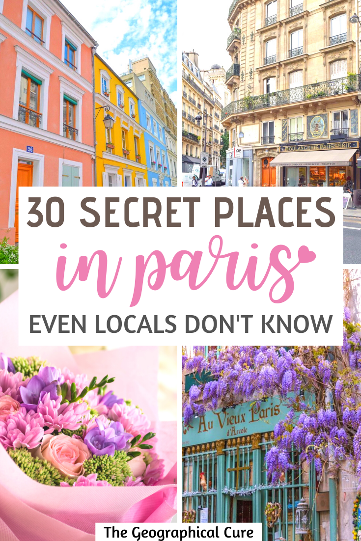 30 Hidden Gems and Secret Spots in Paris, that Even Locals Don't Know