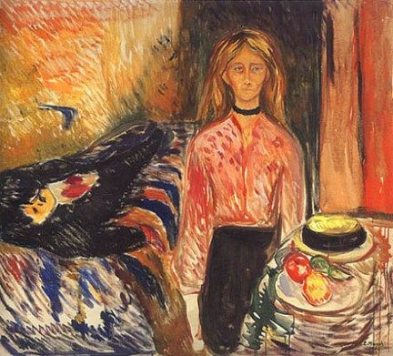 Edvard Munch, Murderess II, 1906-07