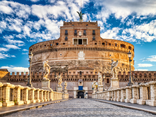 Guide to Rome's Castle Sant'Angelo: Ruins, Angels, and Layers of History