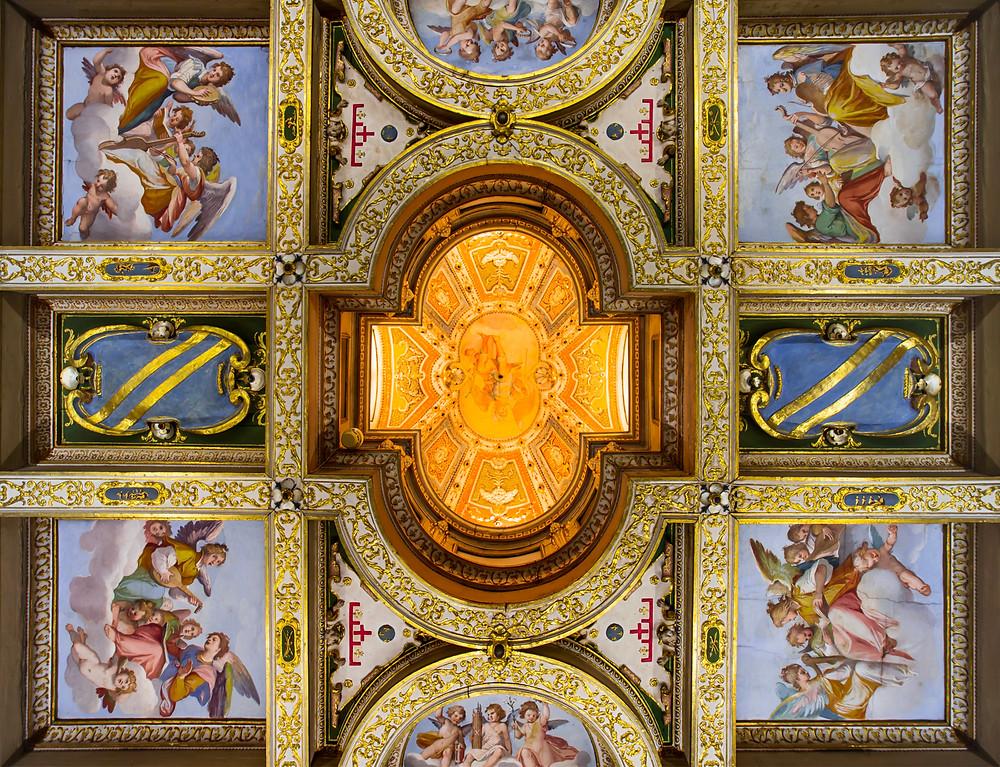 ceiling in Casa Buonarroti