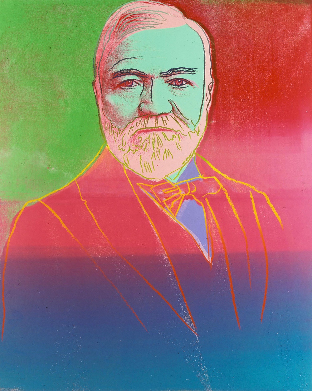 Andy Warhol, Andrew Carnegie, 1981