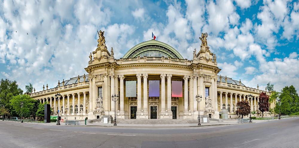 the Grand Palais