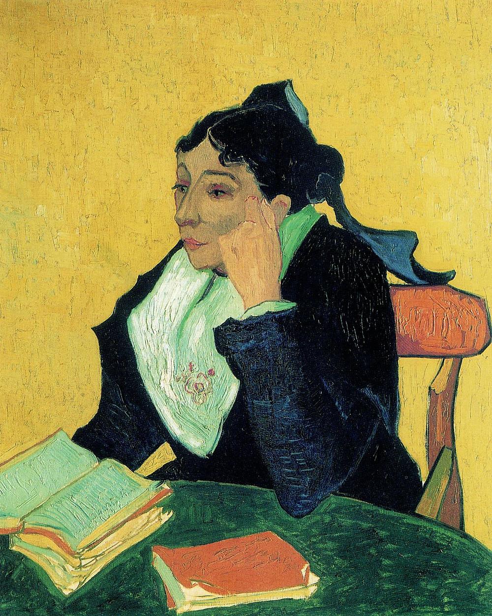 Van Gogh, L'Arlesienne, 1888