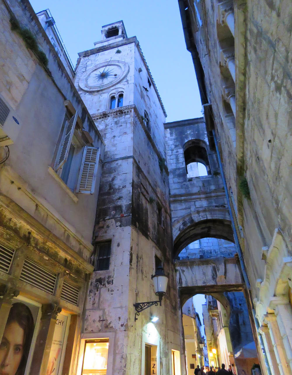 the Iron Gate of Diocletian's Palace