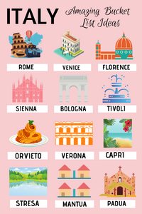 Amazing Bucket List Ideas for Italy: 25 Must See Towns