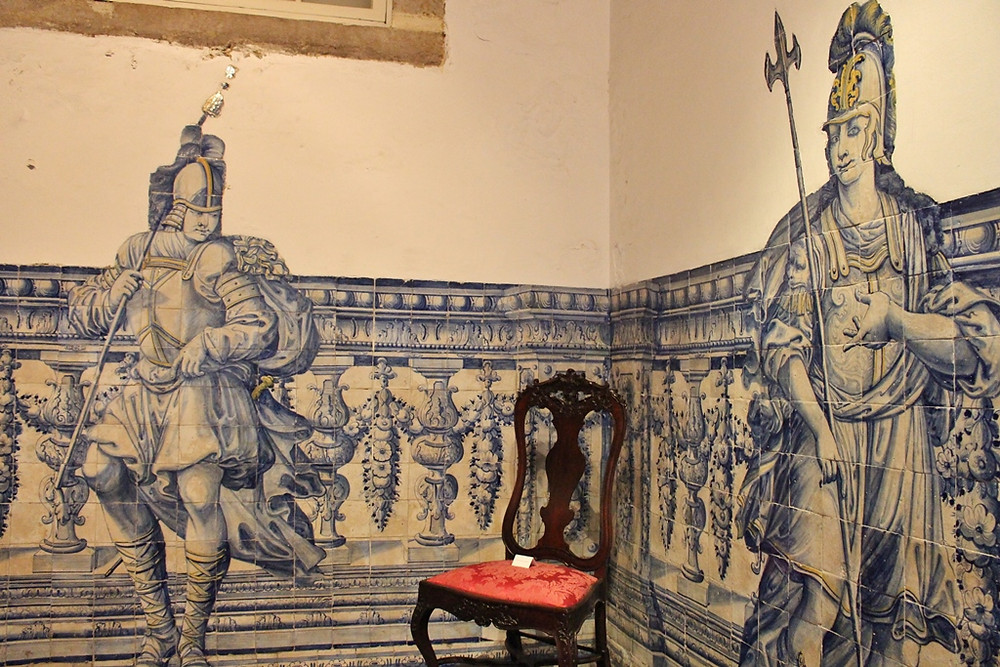 azulejo panels in the Lisbon Museum of Decorative Arts