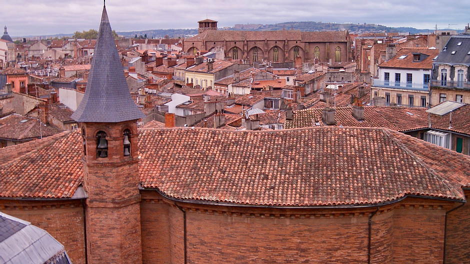 the pretty pink city of Toulouse