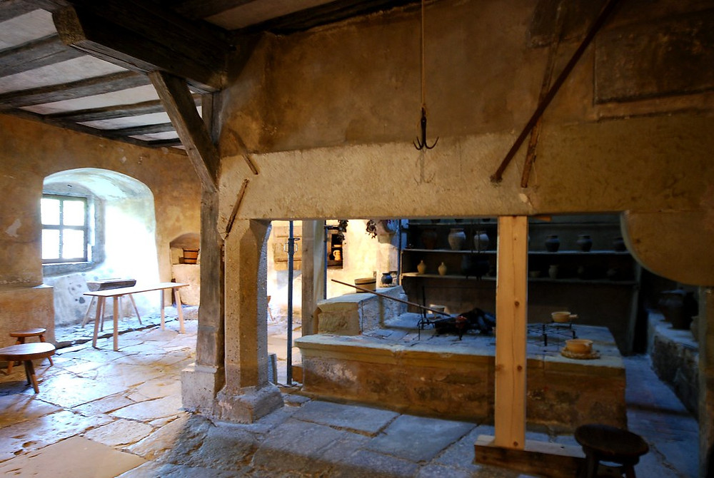 Germany's oldest kitchen, in the Imperial City Museum