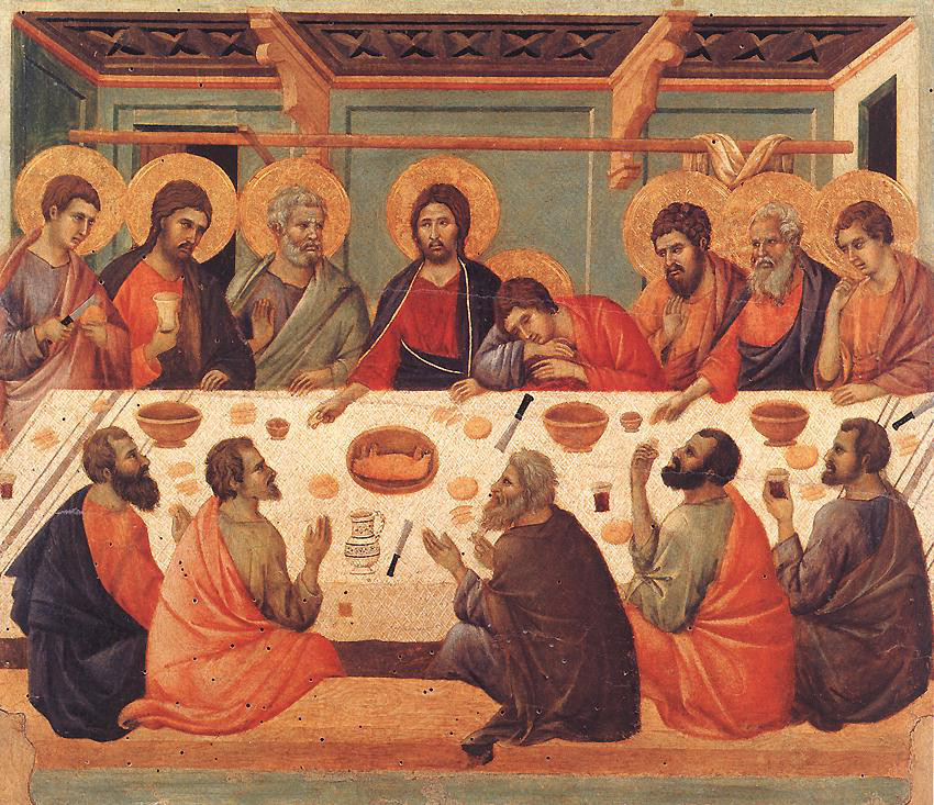 Duccio, The Last Supper, 1325