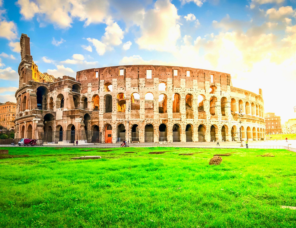 Rome's Colosseum, the most visited monument in Italy