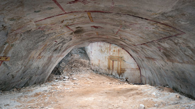 the Room of the Sphinx in the Domus Aurea [Credit: Parco archeologico del Colosseo]